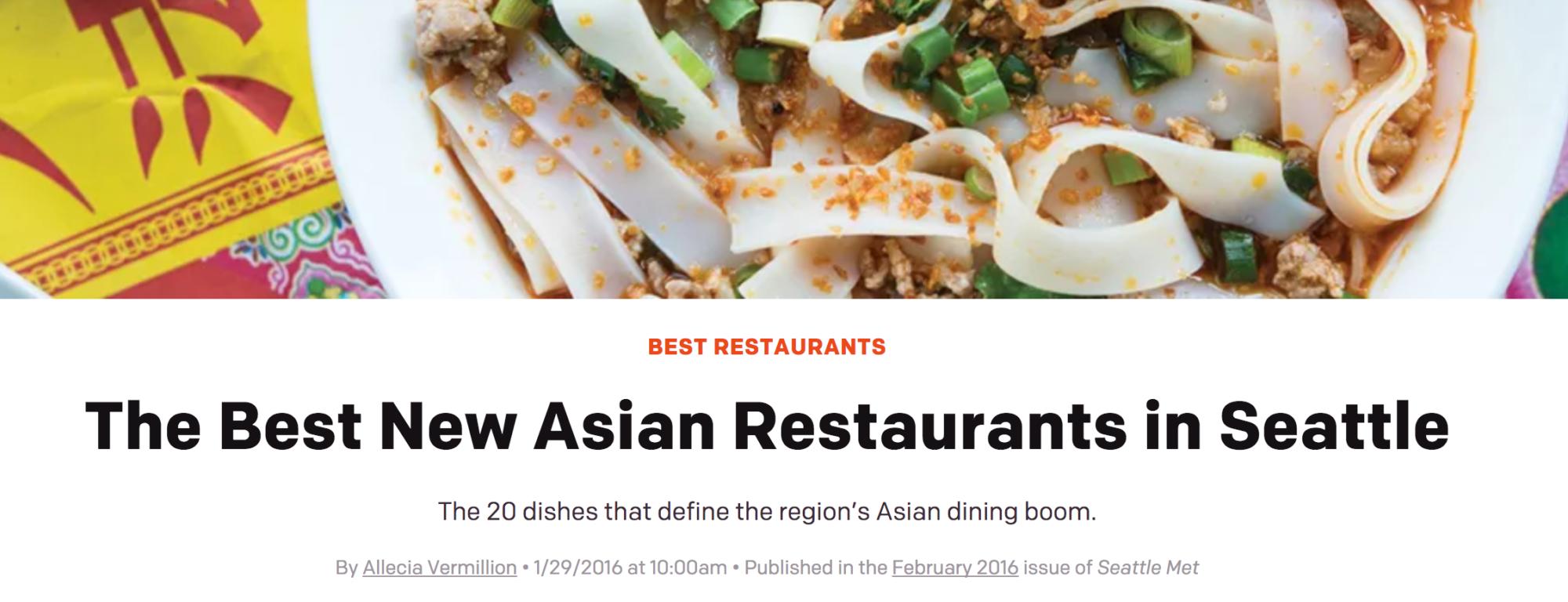 Best Asian Restaurants